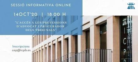 Sessió informativa online sobre l'Avantprojecte de Llei amb la Junta de Govern