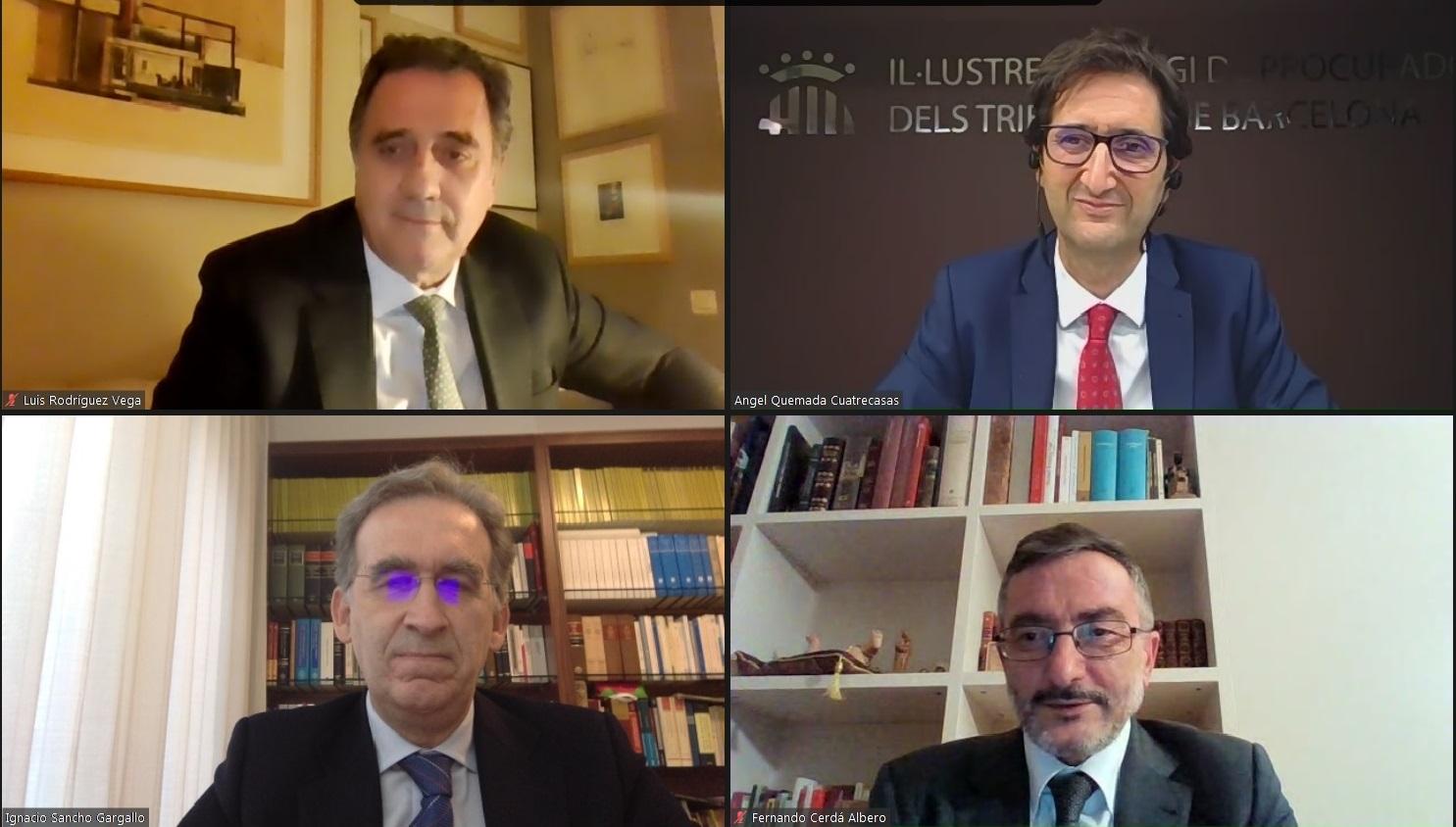 Homenatge a Luis Garrido, Magistrat de l'Audiència Provincial de Barcelona