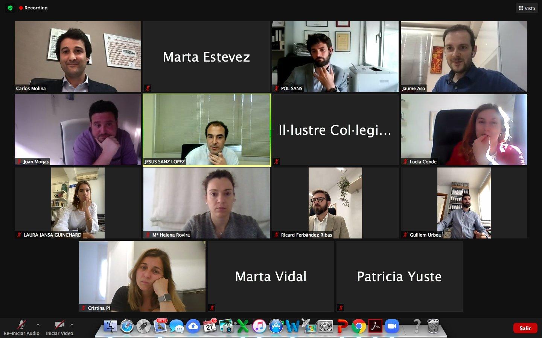 Primer encuentro virtual de la Joven Procura